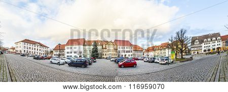 Market Place In Bad Frankenhausen