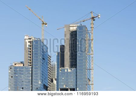 Construction Of Skyscraper Blocks