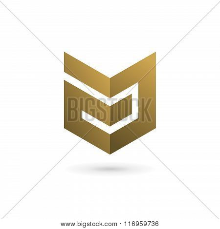 Letter A Shield Logo Icon Design Template Elements