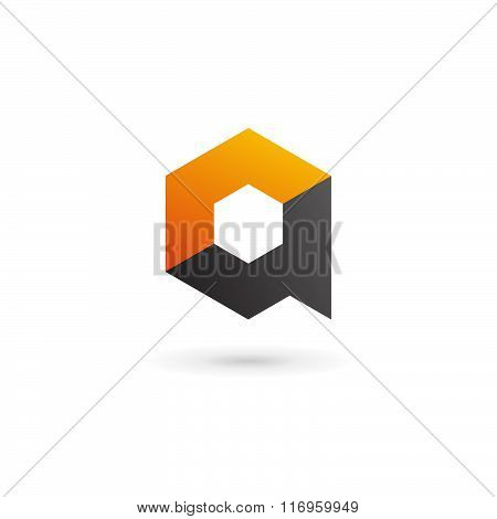 Letter A Technology Logo Icon Design Template Elements