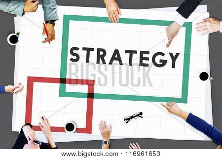 Strategy Vision Planning Process Tactic Concept