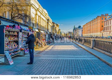 Tourist Market Stalls