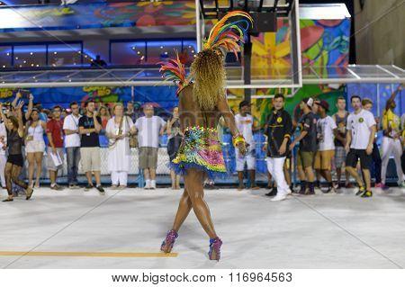 Ensaio Tecnico Escola De Samba Rj
