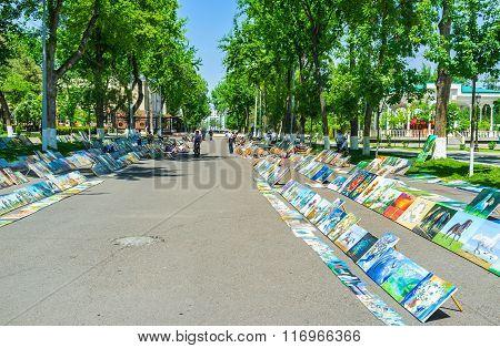 The Art Fair In Tashkent
