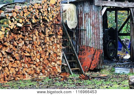 Timber Stored