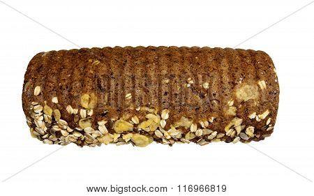 Healthy organic loaf of bread