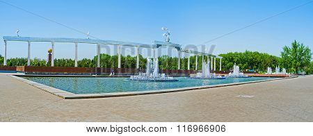 The Architecture Of Mustaqillik Square