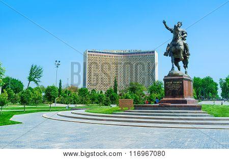 The Cityscape Of Tashkent