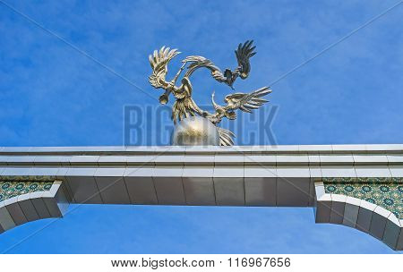 The Metal Storks In Tashkent