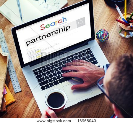 Partners Partnership Alliance Teamwork Unity Concept