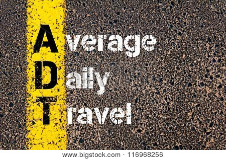 Business Acronym Adt Average Daily Travel