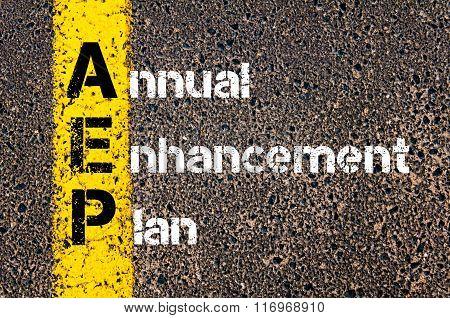 Business Acronym Aep Annual Enhancement Plan