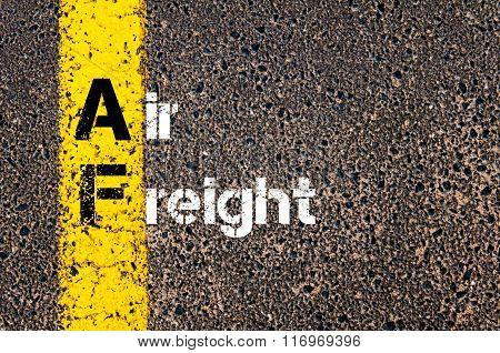 Business Acronym Af Air Freight