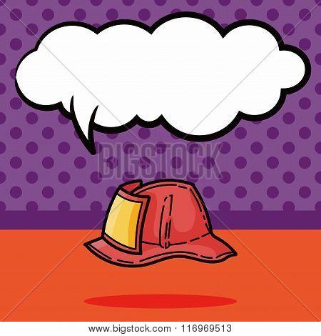Fire Hats Color Doodle