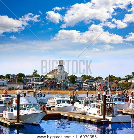 Cape Cod Provincetown port in Massachusetts USA