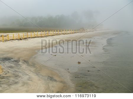 Fogged in Beach