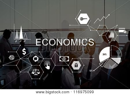 Economics Investment Profit Revenue Savings Concept