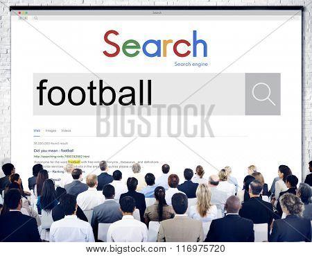 Football Ball Game Goal Hobby Match Sport Concept