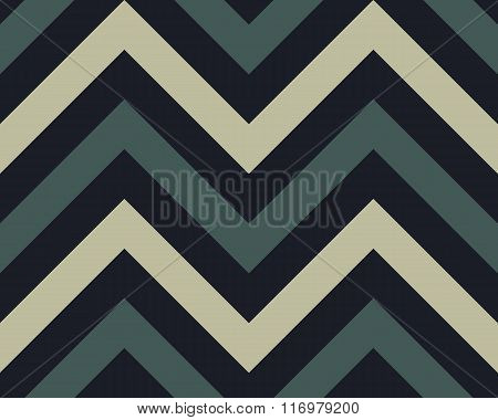 Seamless geometric strip pattern. Stripy texture. Zig-zag line background. Diagonal strips. Gray, si