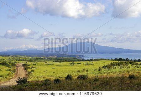 island Kunashir. Kurily