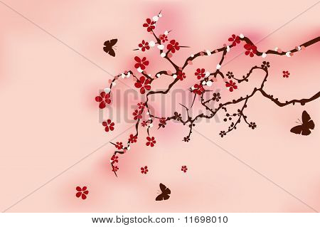 Japanese traditional cherry blossom