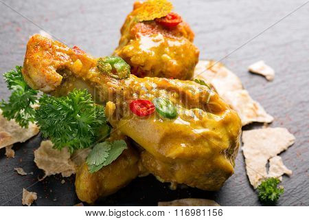 Delicious Chicken Thighs With Curry
