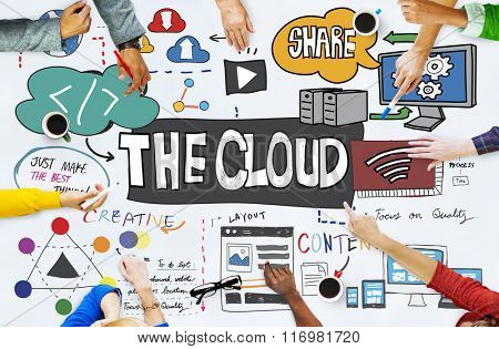 The Cloud Connectivity Information Share Storage Concept