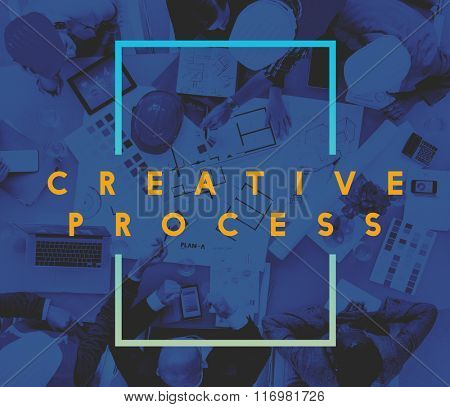 Creative Process Ideas Innovation Thinking Inspiration Concept