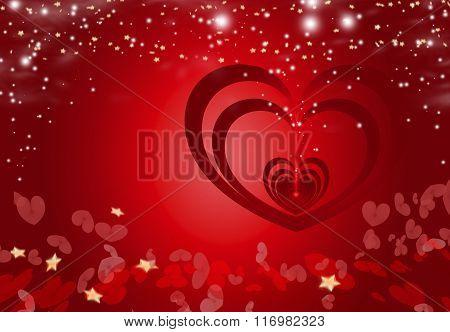 Valentine Heart Background 5