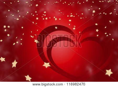 Valentine Heart Background 7