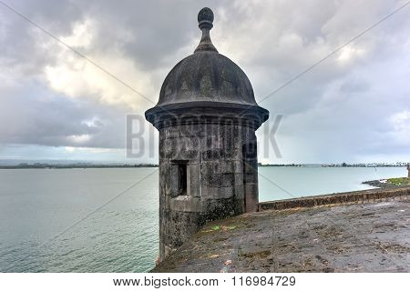 Lookout Tower - Old San Juan, Puerto Rico