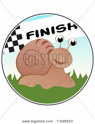 Funny Snail Racer