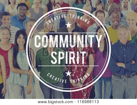 Community Spirit Fellowship Group People Concept