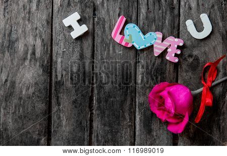 Love Design And Decoration For Valentine Background