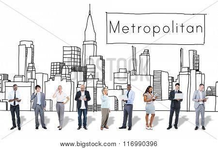 Metropolitan City Urban Democracy Advanced Concept