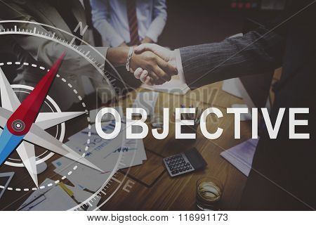 Objective Aim Achievement Direction Motivation Target Concept