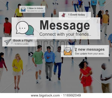 Message News Letter Communication Information Concept