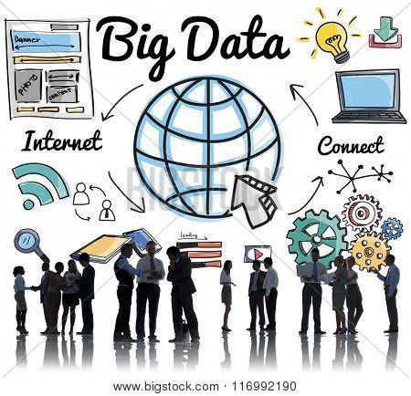 Big Data Information Storage System Networking Concept