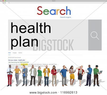 Healthplan Treatment Healthcare Diagnosis Care Concept