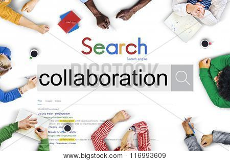 Collaboration Partnership Team Teamwork Unity Concept