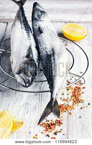 Fresh Fish In A Marinade