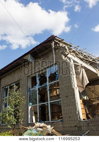 Building After The Military Conflict, Ukraine