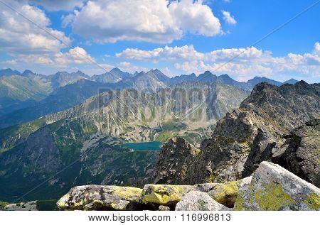 Summer mountain landscape.