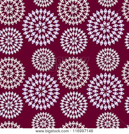 Pattern of openwork flowers