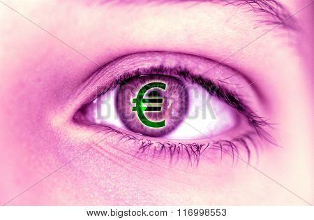Abstraction, Euro In An Eye