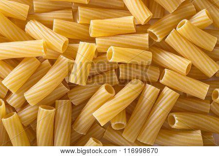 Pasta rigatoni background
