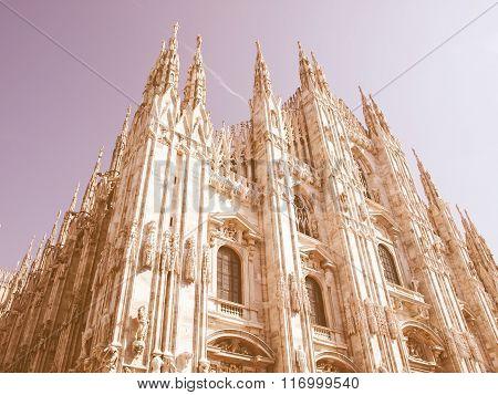 Duomo Di Milano Vintage