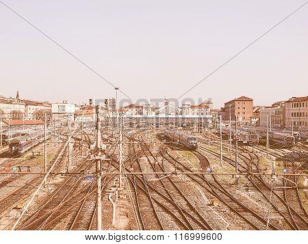 Porta Nuova Station, Turin Vintage