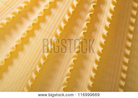 Lasagna sheets pasta background