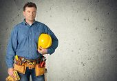 Construction Worker. poster